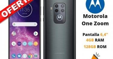 oferta Motorola One Zoom barato SuperChollos