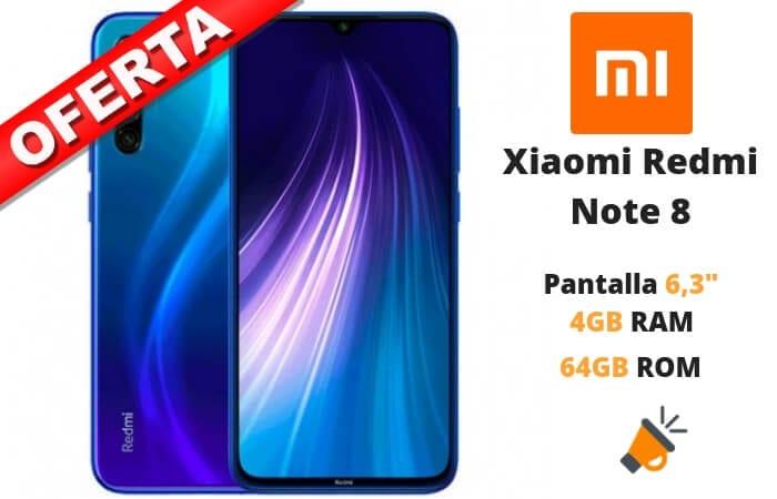 OFERTA Xiaomi Redmi Note 8 BARATO SuperChollos