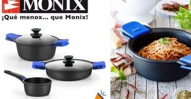 oferta Monix Solid bateria cocina barata SuperChollos