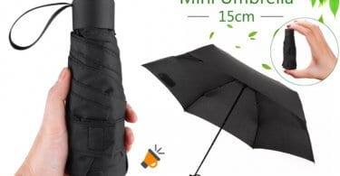 oferta Mini paraguas plegable barato SuperChollos