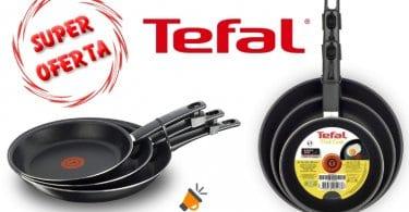 oferta Tefal First Cook Set de sartenes barato SuperChollos