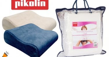 oferta almohada de viaje Pikolin Home barata SuperChollos
