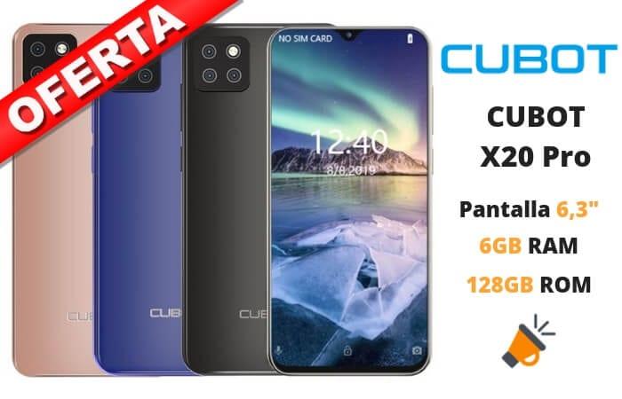 oferta CUBOT X20 Pro barato1 SuperChollos