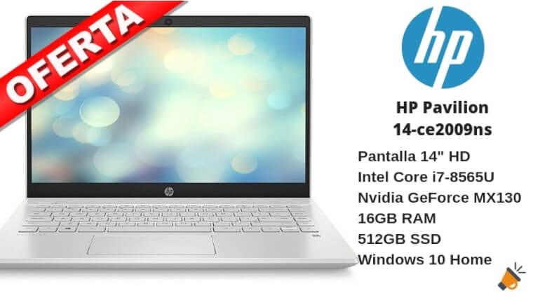 oferta HP Pavilion 14 ce2009ns portatil barato SuperChollos
