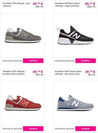 zapatillas new balance baratas SuperChollos
