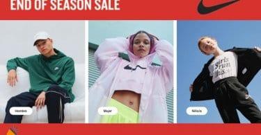ofertas End of Season Sale nike SuperChollos