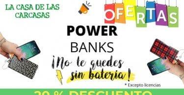 power banks baratas SuperChollos