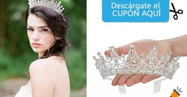 oferta Corona de cristal para bodas barata SuperChollos