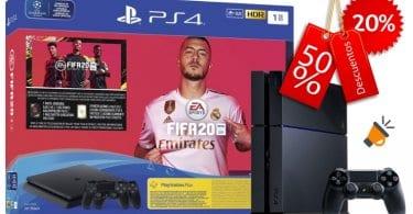 oferta PlayStation 4 PS4 FIFA20 barata SuperChollos