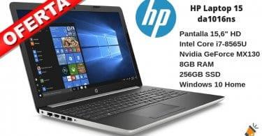 oferta HP Laptop 15 da1016ns barato SuperChollos