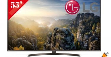oferta LG 55UK6400 smart tv barata SuperChollos