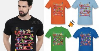 OFERTA Camisetas gaming retro BARATAS SuperChollos