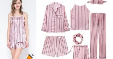 oferta Conjunto pijama mujer barato SuperChollos