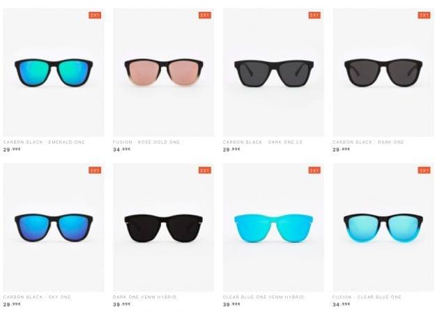 Hasta 60% DTO. en HAWKERS si compras 3 gafas o más