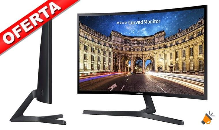 OFERTA Samsung C27F398FWU Monitor Curvo BARATO SuperChollos