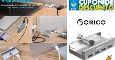 oferta ORICO Hub USB barato SuperChollos