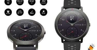 oferta Withings Steel HR Sport Reloj Inteligente barato SuperChollos