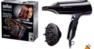 oferta braun HD 530 secador barato SuperChollos