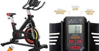 oferta gridinlux Bicicleta Spinning barata SuperChollos