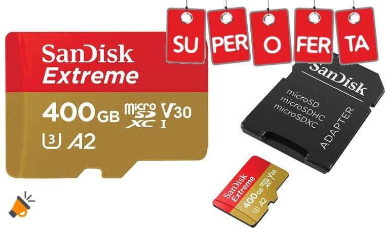 oferta SanDisk Extreme Tarjeta de memoria barata SuperChollos