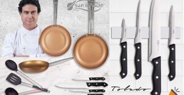 oferta San Ignacio Copper Plus set cocina barato SuperChollos