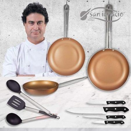 Set cocina San Ignacio Copper Plus barato SuperChollos