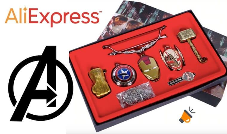 oferta Set de coleccionismo de Los Vengadores barato SuperChollos