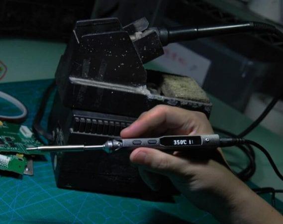 Soldador digital TS100 barato SuperChollos