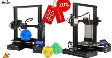 oferta Impresora Creality 3D Ender 3 barata SuperChollos