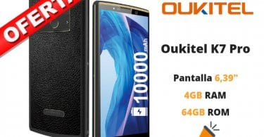 oferta Oukitel K7 Pro barato SuperChollos