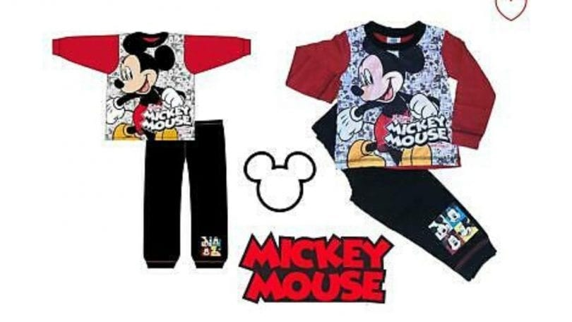 pijama micki mouse SuperChollos