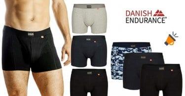 oferta DANISH ENDURANCE boxers baratos SuperChollos