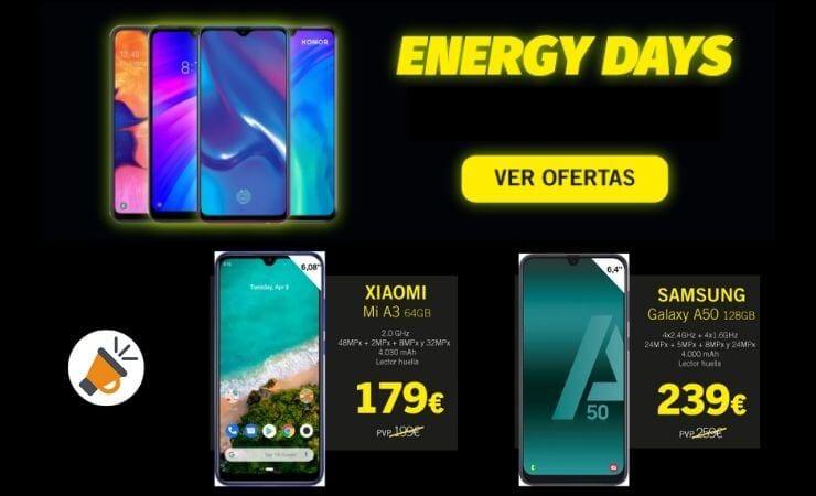 energy days phone house ofertas chollos descuentos noviembre 2019 SuperChollos