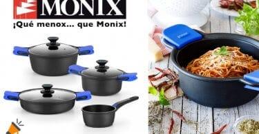 oferta Bateri%CC%81a de cocina Monix Solid barata SuperChollos
