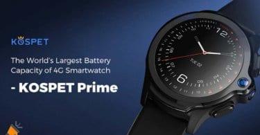 oferta kospet prime smartwatch barato SuperChollos