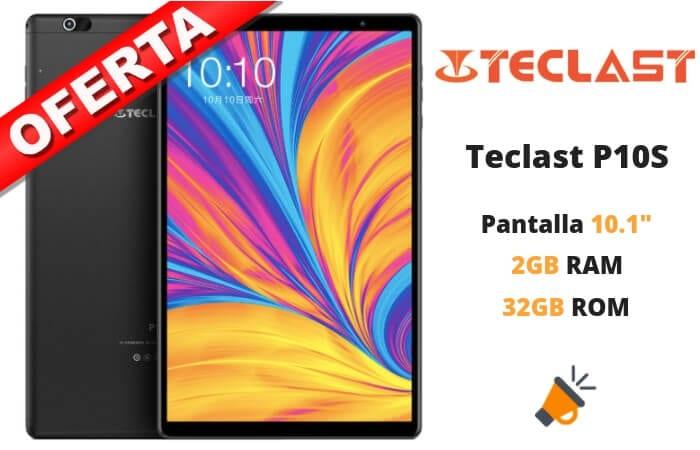 oferta Teclast P10S barato SuperChollos