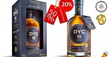 oferta Whisky DYC 15 barato SuperChollos