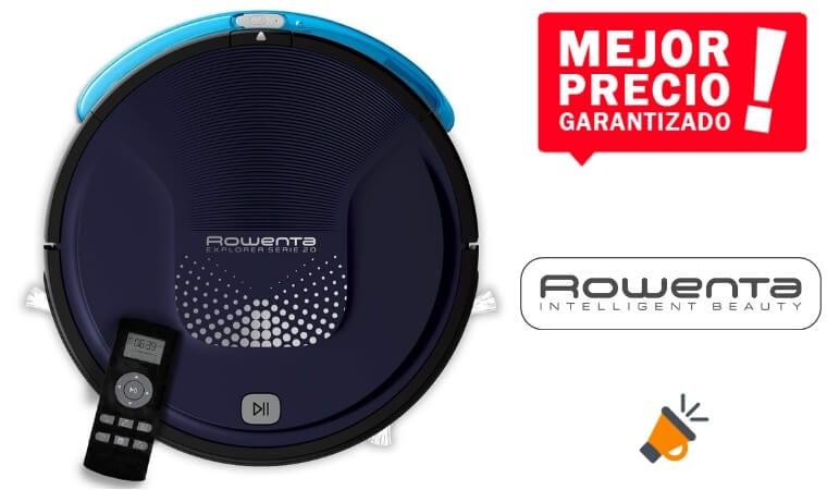 oferta Rowenta Smart Force Explorer Aqua RR6871WH Robot Aspirador barato SuperChollos