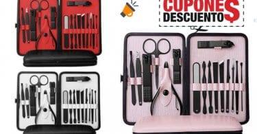 oferta Anself Kit de Herramientas de Pedicura y Manicura barato SuperChollos