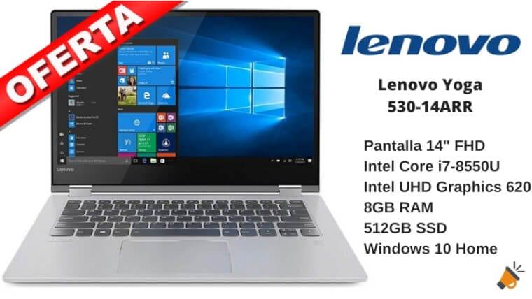 oferta Lenovo Yoga 530 14ARR barato SuperChollos