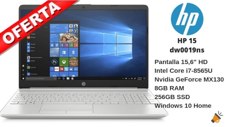 oferta HP 15 dw0019ns portatil barato SuperChollos