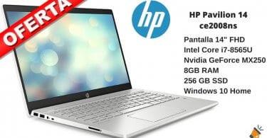 oferta HP Pavilion 14 ce2008ns barato SuperChollos