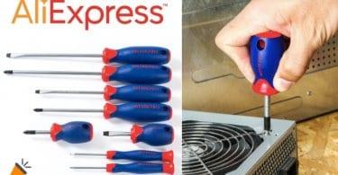 oferta destornilladores magne%CC%81ticos Workpro baratos SuperChollos