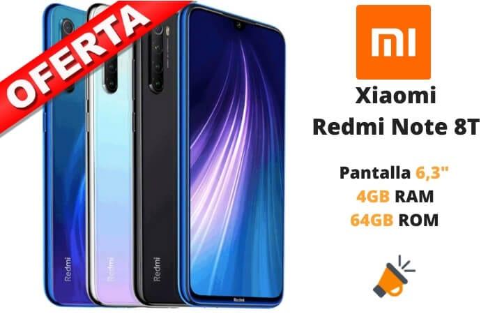 oferta Xiaomi redmi Note 8T barato SuperChollos