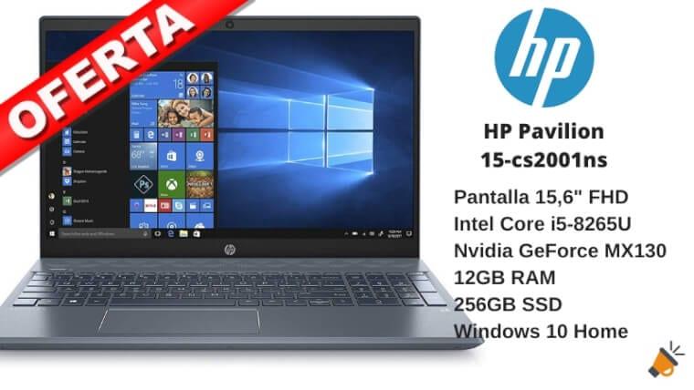 oferta HP Pavilion 15 cs2001ns barato SuperChollos
