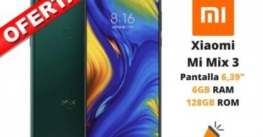 oferta Xiaomi Mi Mix 3 barato SuperChollos