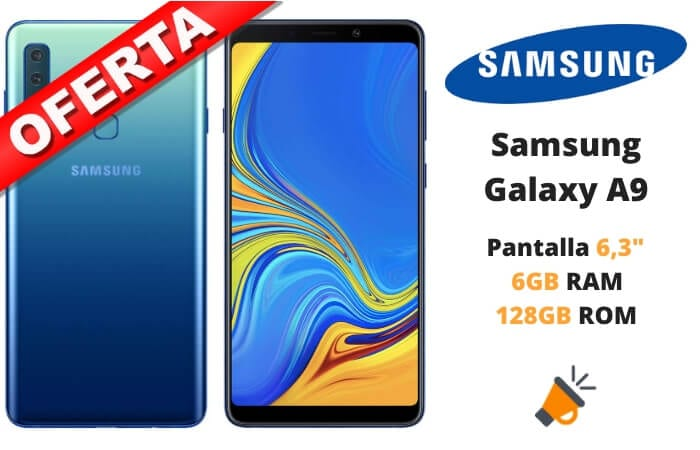oferta Samsung Galaxy A9 barato SuperChollos