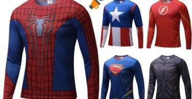 oferta Camisetas de superhe%CC%81roes baratas SuperChollos