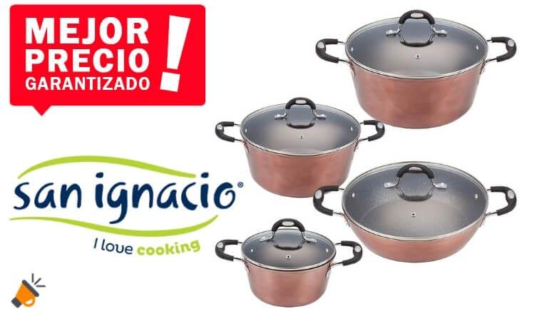 OFERTA San Ignacio PK661 cacerolas baratas SuperChollos