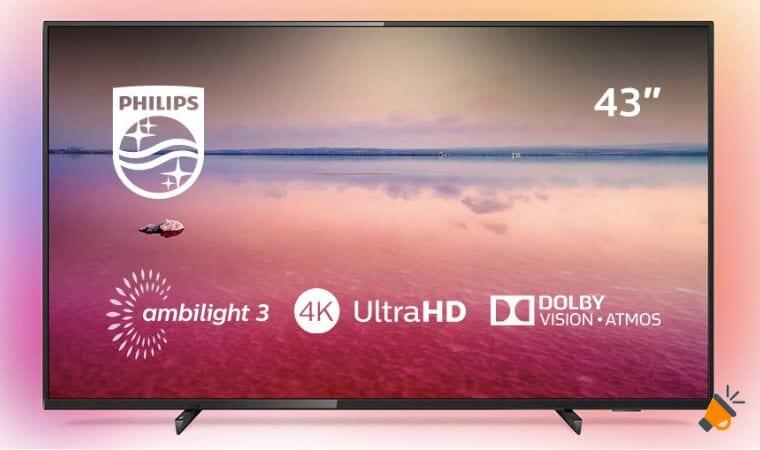 oferta Smart TV Philips 50PUS670412 barata SuperChollos